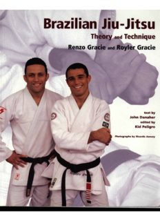 Brazilian Jiu Jitsu Theory and Technique