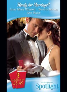 Ready for Marriage (Marriage Ultimatum; Laying His Claim; The Bride Tamer)