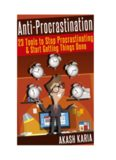 PROCRASTINATION 23 Anti-Procrastination Tools Designed to Help You Stop Putting Things Off ...