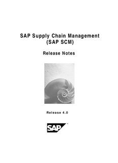 SAP Supply Chain Management (SAP SCM)