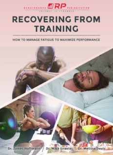 Recovering from Training How to Manage Fatigue to Maximize Performance