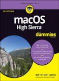 MacOS 'X' High Sierra for Dummies.