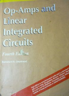 Op-Amps and Linear Integrated Circuits 4th Edition