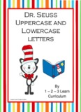 Dr. Seuss Alphabet Letters and Writing Book