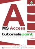 Download MS Access Tutorial (PDF Version)