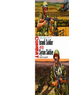 Israeli Soldier vs Syrian Soldier: Golan Heights 1967–1973