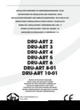 DRU-ART 2 DRU-ART 3 DRU-ART 4 DRU-ART 5 DRU-ART 6 DRU-ART 8-01 DRU-ART 10-01