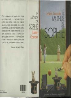 Le monde de Sophie - oasisfle.com