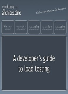A developer's guide to load testing