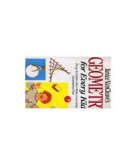 Janice Vancleave's Geometry for Every Kid: Easy Activities That Make Learning Geomtry Fun (Science for Every Kid Series)
