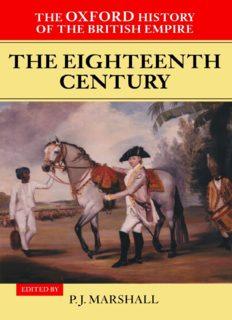Oxford History of the British Empire, Vol. 2 (Oxford, 1998)