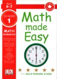 Math Made Easy Grade 1: math workbook (Canadian edition)