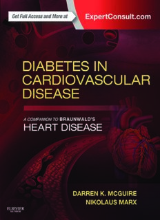 Diabetes in Cardiovascular Disease – A Companion to Braunwald's Heart Disease – Elsevier Saunders