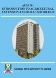 Introduction to Agricultural Extension and Rural Sociology