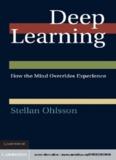 Stellan Ohlsson Deep Learning