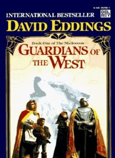 David and Leigh Eddings - [Mallorean 01] - Guardians Of The West
