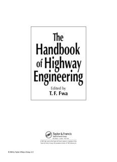 Handbook of Highway Engineering, The