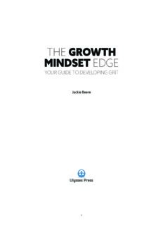 The Growth Mindset Edge Your Guide to Developing Grit