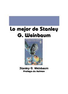 Lo Mejor de Stanley G. Weinbaum