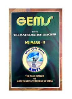 AMTI GEMS Primary 2 Gauss Contest Edited by Smt Maheshwari for PRMO RMO INMO IMO Math Olympiad Foundation