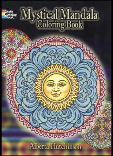 Mystical Mandala Coloring Book (Dover Coloring Books)