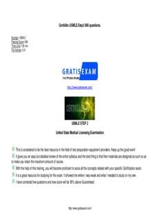 Certkiller.USMLE.Step2 696 questions. USMLE STEP 2 United State Medical Licensing ...