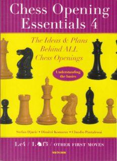 Chess Opening Essentials (Volume 4)