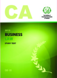 Business laws - Study Text