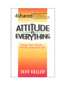 178921748-50015849-Attitude-is-Everything-Jeff-Keller-pdf