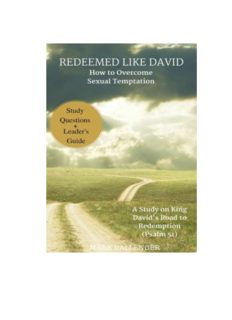 Redeemed Like David: How to Overcome Sexual Temptation
