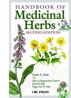 Handbook of Medicinal Herbs - Sarina Damen - Spiritual Counsellor