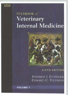 Textbook of Veterinary Internal Medicine, 6th Edition (2 Volume Set)
