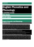 CAMBRIDGE English Phonetics and Phonology