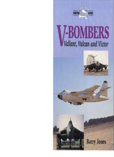 V-Bombers  Valiant, Vulcan and Victor