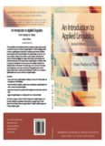 An Introduction to Applied Linguistics (Edinburgh Textbooks in Applied Linguistics)