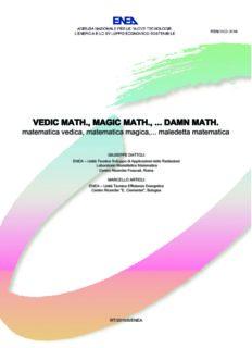 vedic math., magic math., ... damn math.