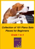 Collection of Piano Solo Pieces for Beginners