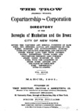 Trow's City Directory 1901