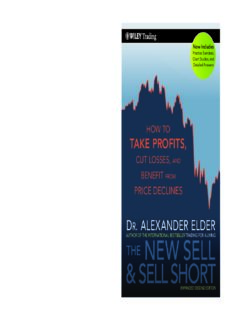 The new sell and sell short : how to take profits, cut losses, and benefit from price declines