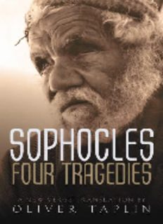 Sophocles : four tragedies