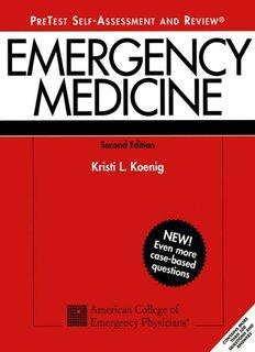 Pretest Emergency Medicine