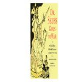 Dr. Seuss goes to war : the World War II editorial cartoons of Theodor Seuss Geisel