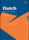 Dutch: An Essential Grammar, 9th edition - Readers StuffZ