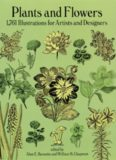 Plants and Flowers: 1761 Illustrations for Artists and Designers