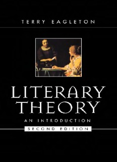 Terry Eagleton: Literary Theory: An Introduction - english literature