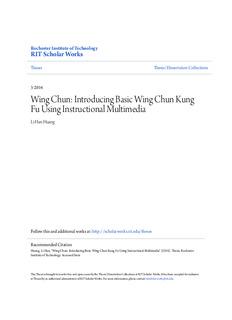 Wing Chun: Introducing Basic Wing Chun Kung Fu Using