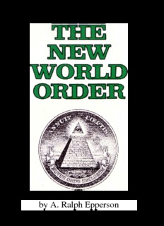 The New World Order by A.Ralph Epperson