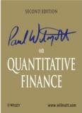 Paul Wilmott - Quantitative Finance vol 1-3 2nd - Trading Software