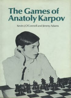 The games of Anatoly Karpov