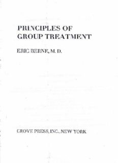 Eric Berne -_Principles of Group Treatment